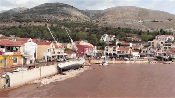 Cikloni Ianos, Greqia bën bilancin e dëmeve në zonat e goditura rëndë