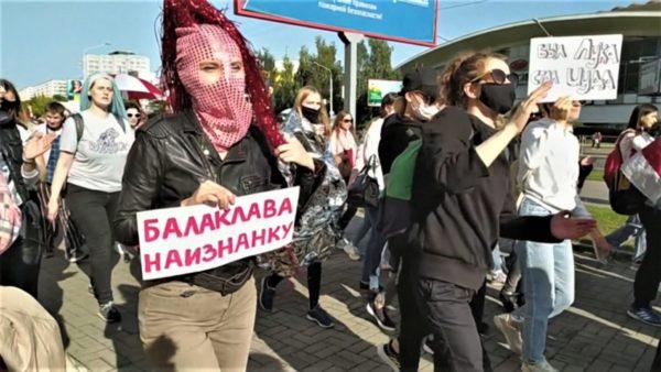 """""""E shtuna e grave"""", mijëra femra protestuan në qendër të Minskut"""