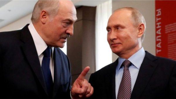 Lukashenko në Rusi, kërkon mbështetjen e Putin