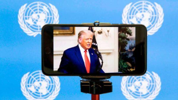 """Trump """"përballet"""" me Xi Jinping në OKB: Kina përgjegjëse për COVID-19"""
