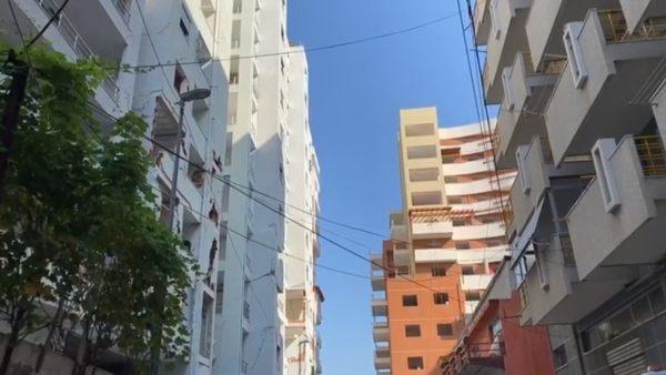 Sot shembet me 12 shpërthime pallati 13-katësh në Durrës, evakuohen 180 banesa pranë tij