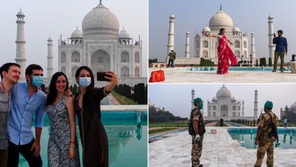 Rihapet Taj Mahal, do të lejohen vetëm 5 mijë vizitorë në ditë