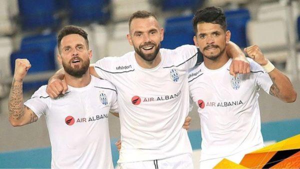 Tirana mëson kundërshtarin në Europa League