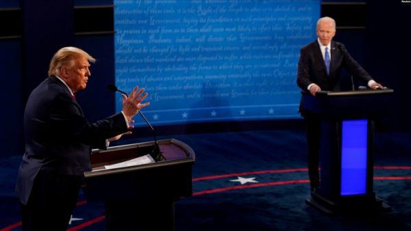 Trump dhe Biden përballen për pandeminë dhe racizmin në debatin e fundit presidencial