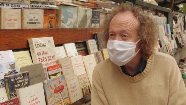 Bukinistët e Parisit në kohë pandemie