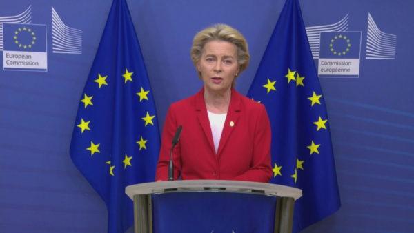 Kontakt me një të prekur nga koronavirusi, Presidentja e Komisionit Europian në vetizolim
