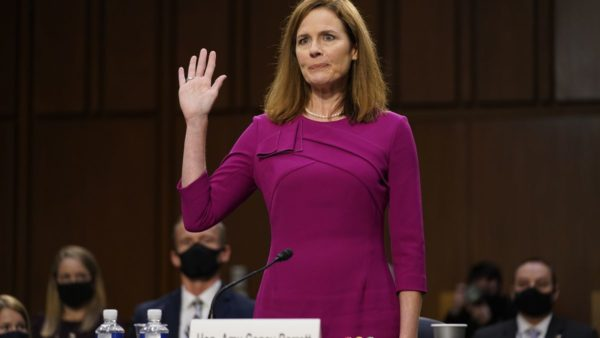 Senati Amerikan voton, të hënën, Amy Coney Barrett për Gjykatën e Lartë