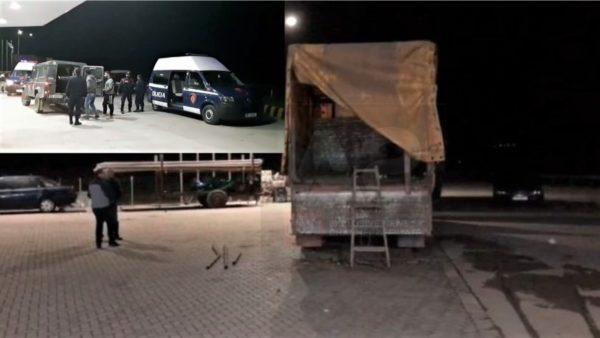 Trafik i klandestinëve, ndalohet në Korçë kamioni me dhjetëra refugjatë