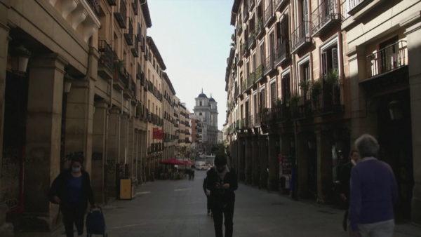 Vala e dytë në Spanjë, Madridi bëhet kryeqyteti i parë europian në izolim total