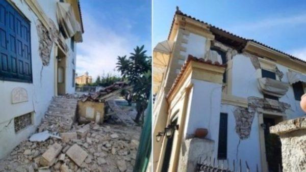 Tërmeti i fuqishëm në Izmir, ndërtesa të dëmtuara edhe në ishullin grek Samos