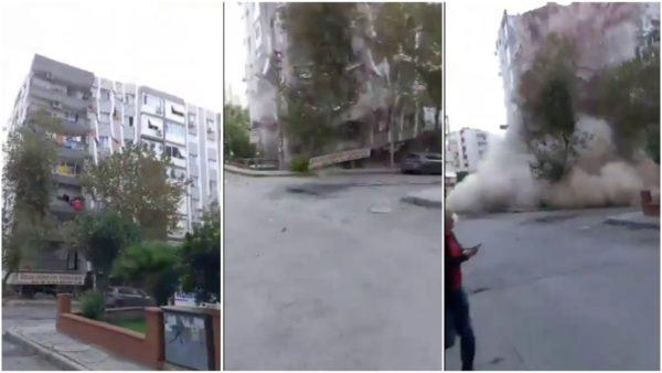 Pamje tragjike nga Turqia, pallati shembet plotësisht, rrugët e Izmirit mbushen me ujë