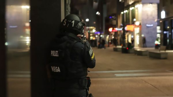 35162648 8906871 An Austrian policeman overlooks an area in Vienna after a shooti a 6 1604363153719 600x338
