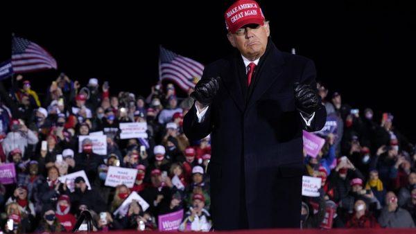 Zgjedhjet në Amerikë, Trump: Po përpiqen të vjedhin zgjedhjet