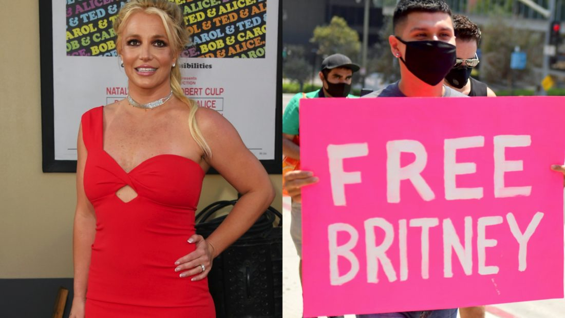 britney spears free britney protest credit getty jon kopaloff matt winkelmeyer 1100x620