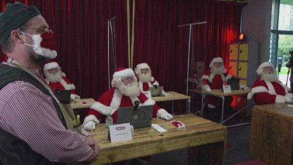 Santa Claus-i po i mban të sigurta Krishtlindje nga pandemia
