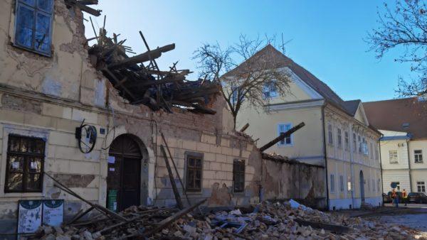 Lëkundje tërmeti në Kroaci, në të njëjtin qytet që u trondit më 29 dhjetor