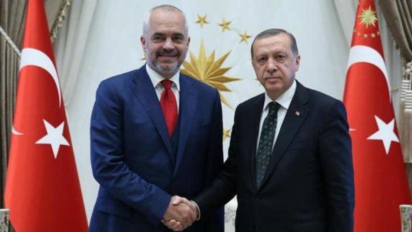 Rama, vizitë zyrtare në Turqi me ftesë të Erdogan