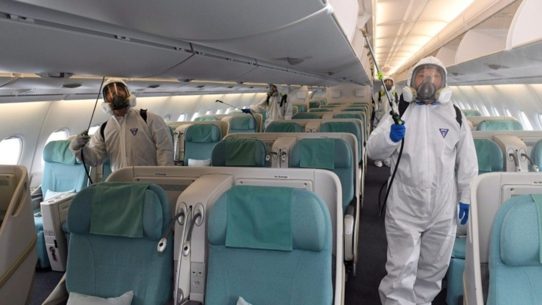 Avion Covid dezinfektim 1100x620
