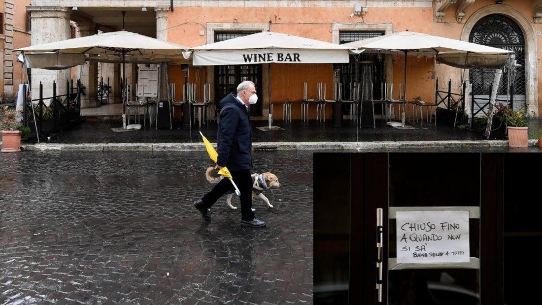 Itali COVID restorante bare 1100x620