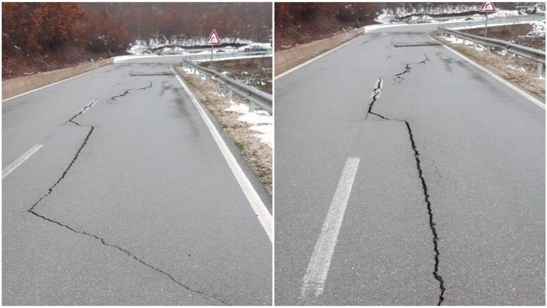 Moti i keq çahet rruga në aksin Kukës Krumë Shkodra zona më e prekur nga përmbytjet 1100x620