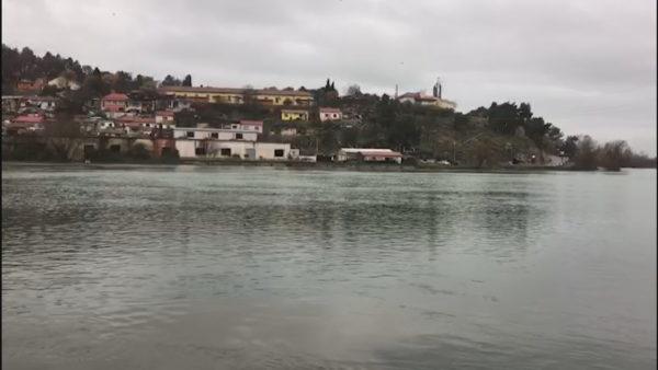 Shkodër, liqeni pranë pikës kritike