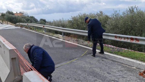 Audituesit e KLSH po verifikojnë mirëmbajtjen e rrugës së rrëshqitur në Borsh