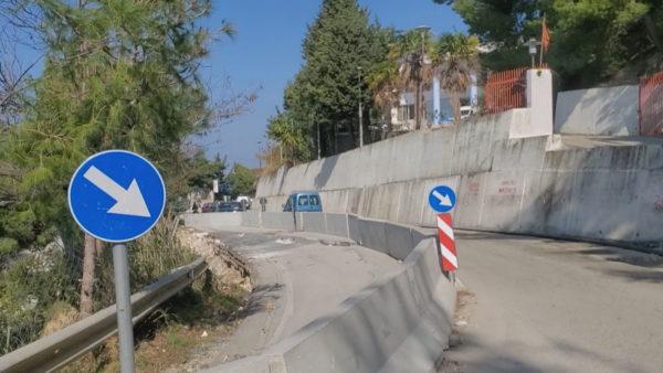 Vlorë, aksi drejt Orikumit problematik për shoferët
