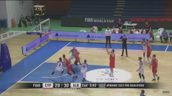 Para-eliminatoret e botërorit, Shqipëria e basketbollit e nis me humbje