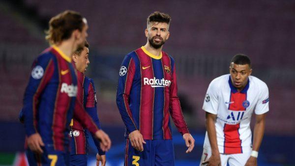 Krisje te Barcelona, fyerje dhe fjalë të rënda, Pique dhe Griezmann nuk përmbahen në fushë