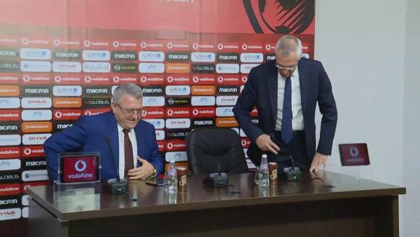 Edy Reja mes Shqipërisë dhe Napolit, Duka mohon skenarin