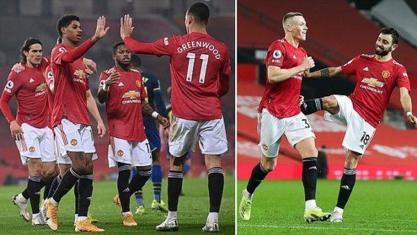 Manchester United, i papërmbajtshëm. 9 gola për fitoren kundër Southampton
