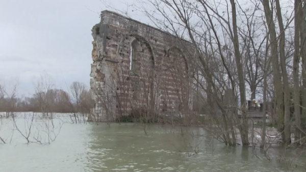 Kisha e Shirgjit në rrezik, uji përmbyt edhe trashëgiminë kulturore