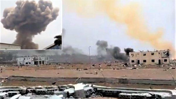 Shpërthen baza me dinamit, dhjetëra viktima, pothuajse shkatërrohet qyteti afrikan