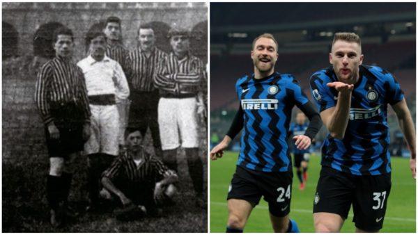 Ecuri për titull, Inter feston ditën e themelimit si kryesues në Serie A