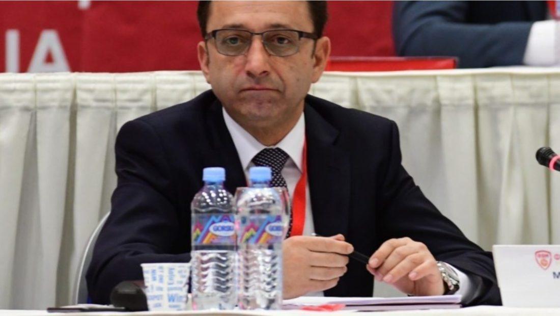 Muamed sejdiu kreu i federates se futbollit te maqedonise se veriut 1100x620