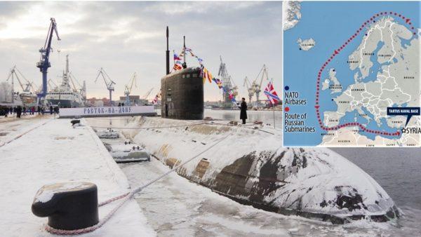 """Si në filma, NATO në kërkim të nëndetëses ruse që e """"provokoi"""" gjatë stërvitjes në Mesdhe"""