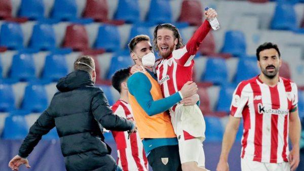 Kupa e Mbretit, Athletic Bilbao eliminon Levanten, në finale ndaj Barcelonës