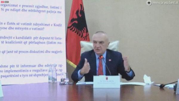 Presidenti në zgjedhje, Meta: Cironkat e SPAK kanë paragjykuar 25 prillin