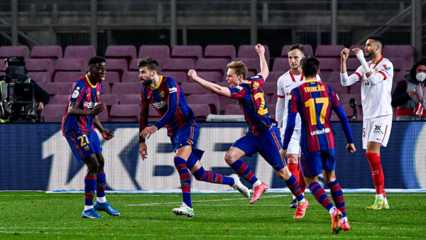 """Kupa e Mbretit, përmbysje e """"çmendur"""" ndaj Sevilla, Barcelona në finale"""