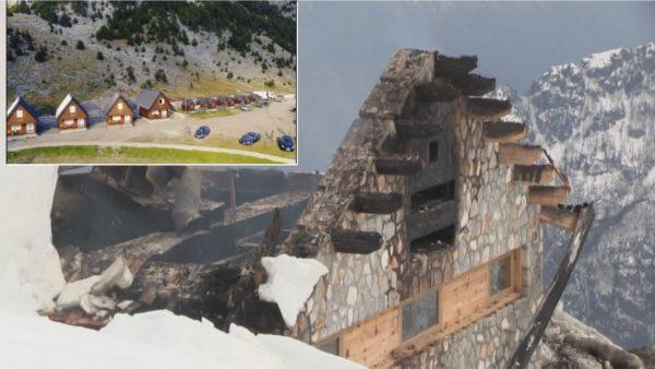 Zjarr i qëllimshëm në Theth, digjen bujtinat e kompleksit turistik