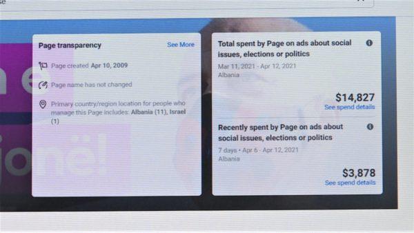 Fushata elektorale online, partitë rrisin buxhetin për reklamat në internet