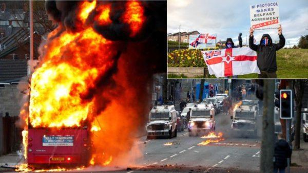 """Rikthehet makthi i luftës civile në Irlandën e Veriut, Belfast """"digjet"""" për natën e katërt"""