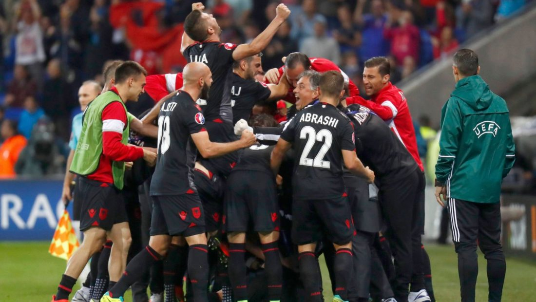 Romania v Albania Euro 2016 Group A 1100x620