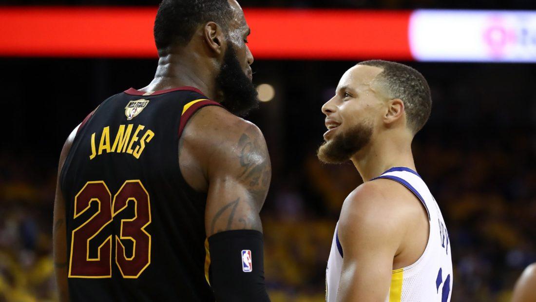 """Stephen Curry i """"joshur"""" nga LeBron James 1100x620"""