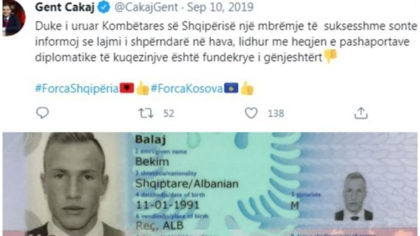 Pasaportat diplomatike të Kombëtares, Ministria kërkon të dorëzohen, dokumenti i vlefshëm edhe për 5 vjet