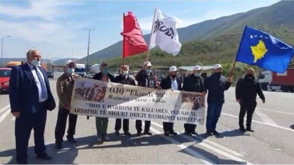 """""""Eksodi '99"""" në Morinë, përkujtohet shpërngulja masive e popullit të Kosovës"""