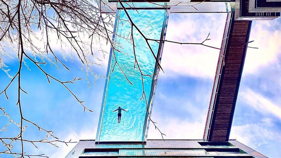 """Not """"në ajër""""… pishina më luksoze në Londër është gati"""