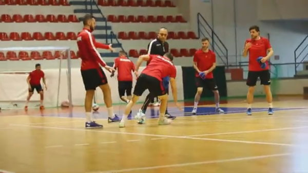 Europiani i futsallës, Shqipëria përballë Kroacisë kryesuese