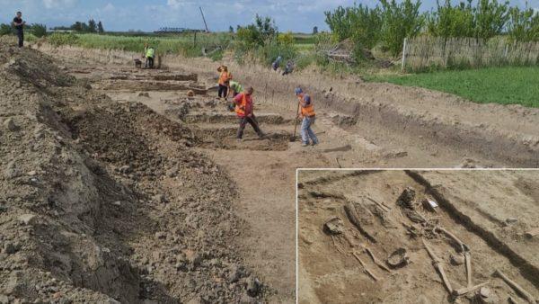 Gërmimet në Apolloni, zbulohen varrezat romake dhe furra 2500-vjeçare e qeramikës