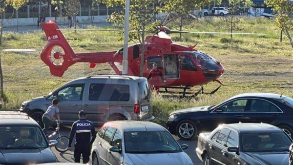 Aksidentohet rëndë fëmija 10-vjeçare në Maliq, transportohet me helikopter në Tiranë